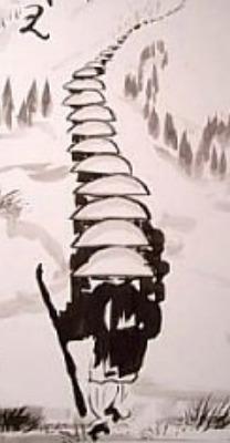 Kinhin – wu wei – Zen Dojo Lier
